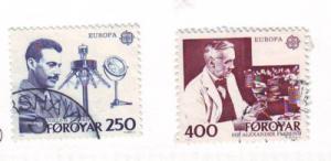 Faroe Islands Sc95-6 1983 Europe stamps used