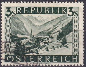 Austria #480  F-VF Used   CV $5.00  Z132