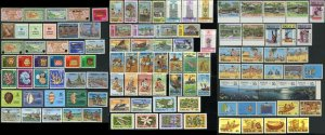 TOKELAU Islands Postage Stamp Collection 1948-1992 Mint NH OG