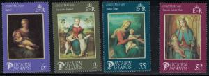 Pitcairn Islands SC266-265 Christmas'85-PaintingsByRaphael-Kraus&Mayer MNH1985