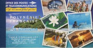 French Polynesia #718a Full Booklet Island Scenes ~ (9570)