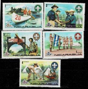 Nicaragua 1978 Boy Scouts Jamboree MH