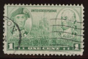 USA Scott 790 Used 1937