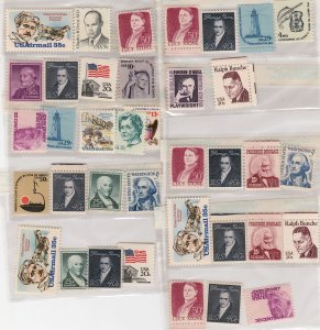 U.S. DISCOUNT POSTAGE, $1.20 X 10 COMBINATIONS. 30% DISCOUNT. MINT, NH. F-VF.