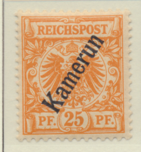 Cameroun (German Occupation) Stamp Scott #5, Mint Lightly Hinged - Free U.S. ...