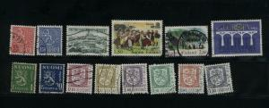 Finland  14 different  Mint & used PD