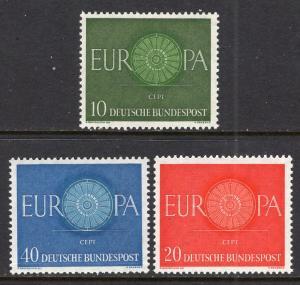 Germany 818-820 Europa MNH VF