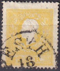 Austria #6   F-VF Used  CV $55.00  (Z6926)