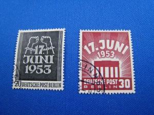 GERMANY - Berlin - SCOTT # 9N99-9N100  - Used       (kb)