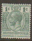 British Honduras #75 Mint