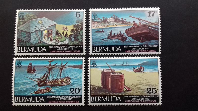 Bermuda 1975 Bicentennial of Gunpowder Plot, St. George's Mint