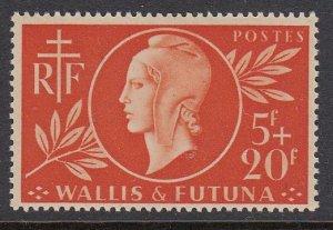 Wallis & Futuna B9 Red Cross mnh