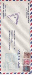1941, Singapore, Straits Settlement, Censored , See Remark (C4096)