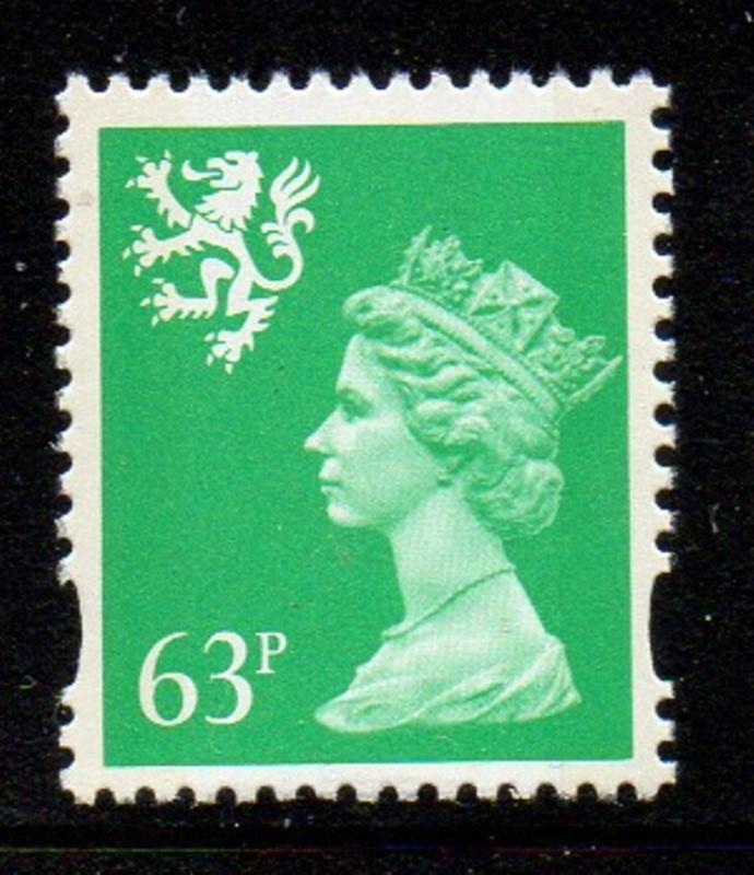 Great Britain Sc SMH70 1996 63p Machin Head stamp mint NH