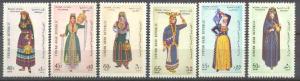 Syria C285-90 MNH Costumes SCV4.30
