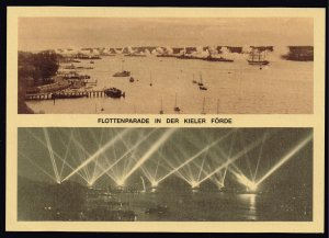 GERMANY STAMP FLOTTENPARADE IN DER KIELER POST CARD UNSUED