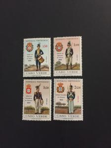 Cape Verde #330-333*