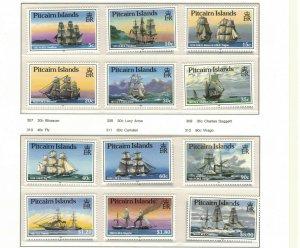 MPN10) Pitcairn Islands 1988 Ships MUH