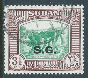 Sudan, Sc #O53, 3-1/2pi Used