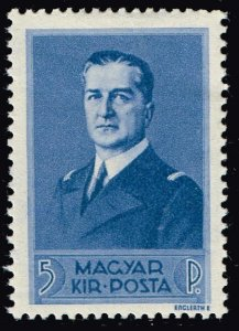 HUNGARY STAMP 1938 Admiral Miklos Horthy MH/OG 5F