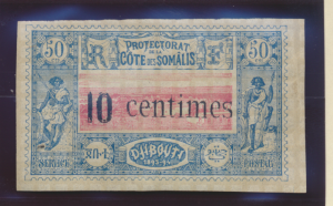 Somali Coast (Djibouti) Stamp Scott #29, Mint Hinged - Free U.S. Shipping, Fr...
