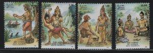 SRI LANKA 1130-1133, (4) SET, Hinged,1994 Vesak festival