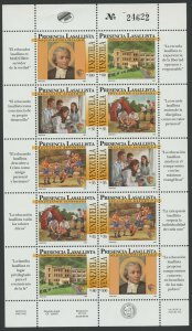 Venezuela 1995 MNH Miniature Sheet | Scott 1516 | Jean-Baptiste de La Salle