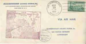 US First Exploratory Polar Flight Los Angeles, CA to Copenhagen 1952