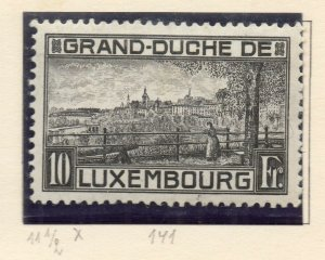 Luxembourg 1923 Early Issue Fine Mint Hinged 10F. NW-135504