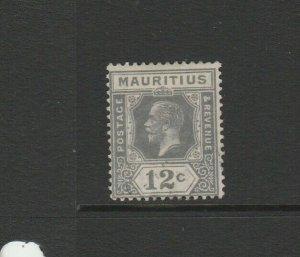 Mauritius 1921/34 Script CA 12c Used Type A, SG 231