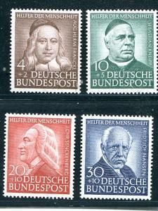 Germany # B334-37 Mint VF NH = Lakeshore Philatelics