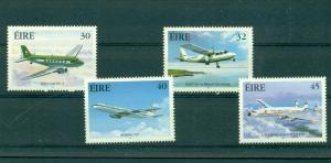 Ireland - Sc# 1201-4. 1999 Airplanes. Never Hinged. $4.45.