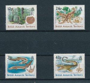 [105480] British Antarctic Territory 1991 Prehistoric animals dinosaurs  MNH