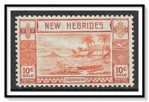 New Hebrides - British #51 Beach Scene MH