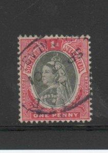 SOUTHERN NIGERIA #2  1901  1p  QUEEN VICTORIA       F-VF USED