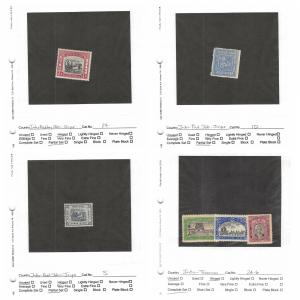 Lot of 14 India Feudatory States MH Mint Hinged Stamps #142290 X R