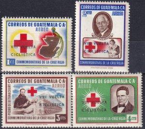Guatemala #C295-8 MNH  CV $7.30  (Z7221)