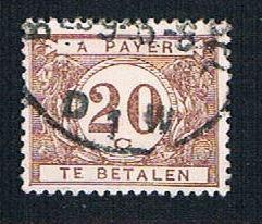 Belgium J24 Used Postage Due Numeral (BP1906)