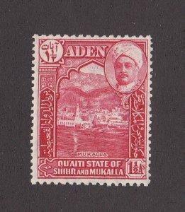 Aden (Shihr-Mukalla) Scott #4 MH