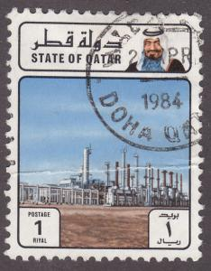Qatar 623 Oil Refinery 1982