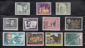 Venezuela Scott #865-875 MH