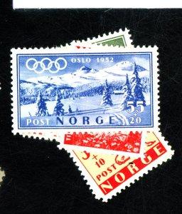 NORWAY #B48-53 MINT VF OG LH Cat $36