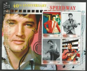 GAMBIA  3156, MNH,  SHEET OF 4, #A-D, ELVIS PRESLEY