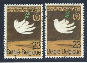 Belgium   (2)   U   PD