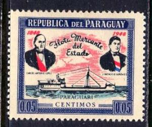 Paraguay; 1949: Sc. # 454: */MH Single Stamp
