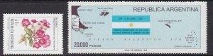 ARGENTINA  ^^^^  KEYS  sc#1411,1524  better  MNH   $$@ lar821arg