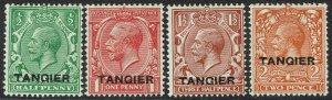 TANGIER 1927 KGV SET 1/2D - 2D