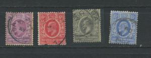 East Africa And Uganda Protectorates 1903-8  Accumulation Used