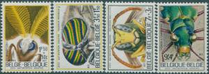 Belgium 1971 SG2252-2255 Insects in Antwerp Zoo set MNH