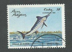 1981 Cuba Scott Catalog Number 2390 Used